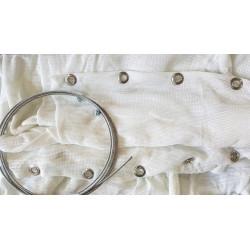 Сетка стрелоуловитель JVD Netting White Standard with Ring 5 м.