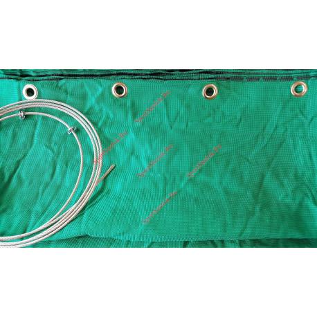 Сетка зелёная стрелоулавитель JVD Netting Green Extra Strong with Ring 3 meter